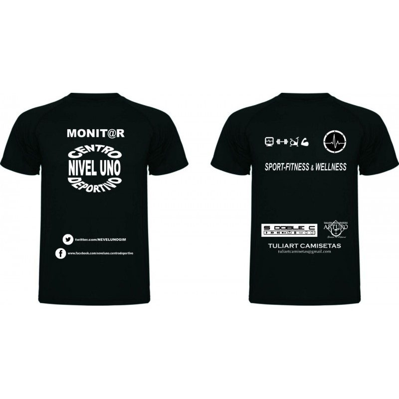 Boceto camiseta serigrafiada - Salon del trofeo 283fb14d73379